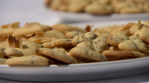 Fűszernövényes keksz