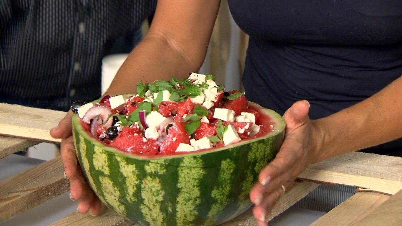 Görögdinnye saláta