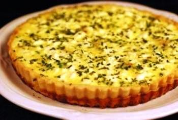 Krumplis, sajtos pite