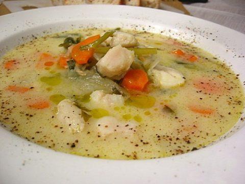 Halgombóc leves