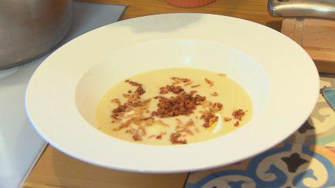 Rakottkrumpli leves