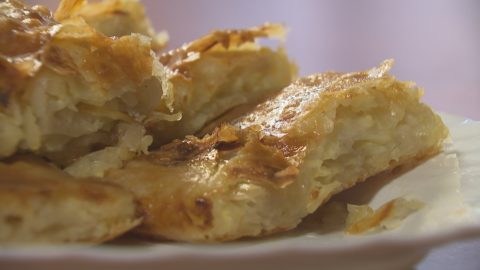 Krumplis rétes